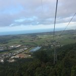 Panoramic views on Skyrail