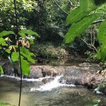 small river where you can enjoy the fish foot massage