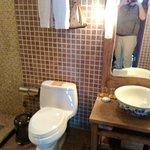 modern western style toilet
