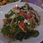 A Greek Salad that we shared