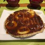 Excellente galette de sarrasin et noix de st Jacques et kouign pommes caramel au beurre salé !!!