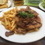 jaeger schnitzel