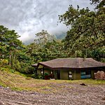 Quetzal villa - two bedroom unit with low clouds in the background.