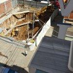 Noisy Construction site just below my Room Balcony.