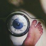 Weighting in toilet