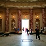 Atrium with Roman/Greek sculptures