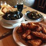 Awesome mussels and KBS on tap