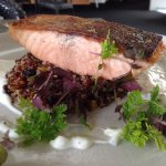 Pan Fried Salmon and Quinoa