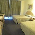 Generous sized twin room