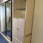 Wardrobe storage area