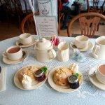 Cream teas on offer.