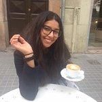 "I got ""Cafe con leche"""