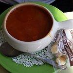 Maryland crab soup, good.