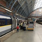 Off to Paris we go, courtesy of Eurostar and a somewhat chaotic St.Pancras International train s