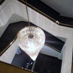 Stairway from reception