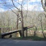 Swinging bridge, Patapsco Valley State Park