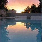 Sunset Infinity Pool