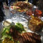Déjeuner à L'épicurieux