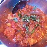Chicken Jal Frezie - spicy and bitey.