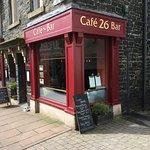 Outside Cafe 26 Bar