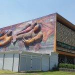 """El mural """" Pueblo a la Universidad; la Universidad al Pueblo"""""""
