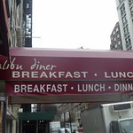 Awning cover for Malibu Diner