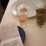 Thé à la menthe et digestif maison offert