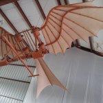 De Vinchi's flying machine