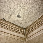 Rotting walls and crumbling ceilings