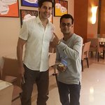 With Actor and Model - Dino Morea