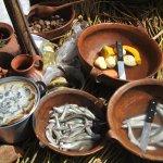 Comida tradicional en la Isla de los Uros