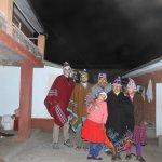 Familia en Amantani.