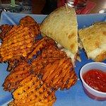 Reuban with Sweet Potato fries