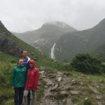 hike to Waterfall, Fort William-Glen Nevis