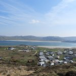 View over Rosguill Holiday Park