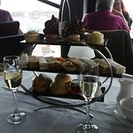 Afternoon Tea Selection and champagne....