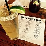 Bottomless Margaritas and Sangrias before 3pm. Delicious guacamole and fresh fried chips. Taco S