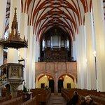 Interior view of St. Thomas Kirche