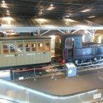 Japan's first steam train.