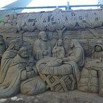 Sand Sculpture (Mexican Artist) Shot April 2017 At The Centro de Convenciones, Costa Azul, Acapu