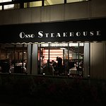 Osso Steak House as seen from California street cable car