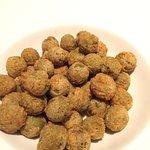 Super yummy fried stuffed Spanish olives