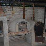 parrilla, horno chileno, horno de barro y disco de coccion