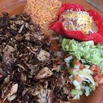 Carnitas plate is awesome!