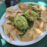 Order of Guacomole and chips