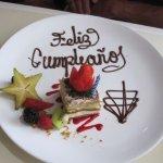 Birthday dessert! Nice suprise