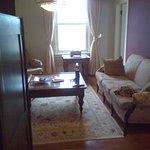 Sitting room in 3 bedroom suite (Suite #5)