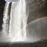 Rainbow at one of the waterfalls!