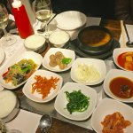 Wonderful Meal of Various Asian Delectable Favorites at the New Wonjo Restaurant
