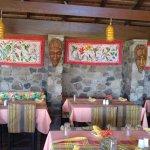 Open air restaurant and decor